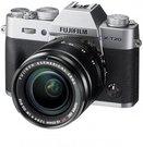 Sisteminis fotaparatas Fujifilm X-T20 XF18-55 Kit sidabrinis