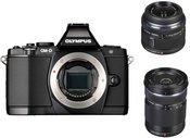 Sisteminis fotoaparatas OLYMPUS OM-D E-M5 + 14-42mm + 40-150mm (expo)