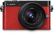 Sisteminis fotoaparatas PANASONIC Lumix DMC-GM5 + 12-32mm (Raudonas)