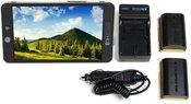 SmallHD 702 Bright Full HD Field + LP-E6 baterijos komplektas