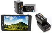 SmallHD 702 Bright Full HD Field + NPF baterijos komplektas