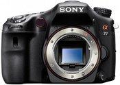 Sony Alpha SLT-A77 be objektyvo