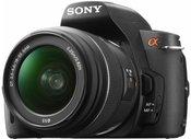 Sony DSLR-A290 su objektyvu DT 18-55mm SAM