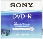 Sony DVD-R 2,8GB 8 cm Jewel Case DMR 60 A