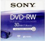Sony DVD-RW 1,4GB 8 cm Jewel Case DMW 30 AJ