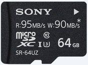Sony memory card microSDXC 64GB Expert UHS-I U3 Class 10