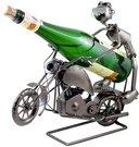 Stovas buteliui metalinis Motociklininkas W92 0.75L