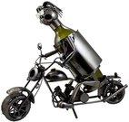 Stovas buteliui metalinis Motociklininkas W98 0.75L