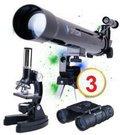 Teleskopas + Mikroskopas + Žiūronai Science Master SE