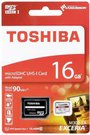 Toshiba microSDHC Class 10 16GB Exceria M302 UHS I + Adapter