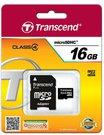 Transcend microSDHC 16GB Class 4 + SD-Adapter