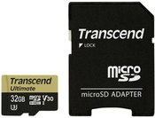 Transcend microSDHC 32GB UHS-I MLC U3M +SD Adapter