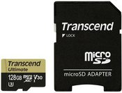 Transcend microSDXC 128GB UHS-I MLC U3M +SD Adapter