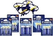 Varta High Energy Quadrocopter Set 0937110877