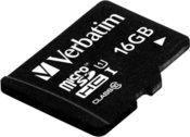 Verbatim microSDHC UHS-I 16GB Class 10 incl USB Card Reader