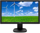 "W-LED 23.6"" 243S5LJMB/00 16:9 1920x1080 10M:1 (typ 1000:1) 250cd 170/160 1ms VGA/DVI-D/HDMI/DP/4xUSB2.0, SPK 2x2W, HAS 130, Pivot, c:Black"