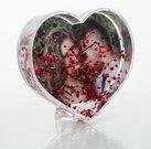 Širdelė su Jūsų nuotrauka ir širdelės formos blizgučiais GK250H