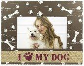 ZEP Dido I love my dog 10x15 Holz Portrait P5546