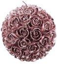 Žvakė rutulys iš rožių žiedų D 8 cm SP728