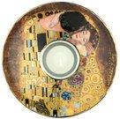 Žvakidė porcelianinė D 15 cm 66-900-56-4 Klimt Bučinys Goebel