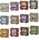 Žvakutės arbatinės 4 vnt. 871125251802 (12 spalvų)