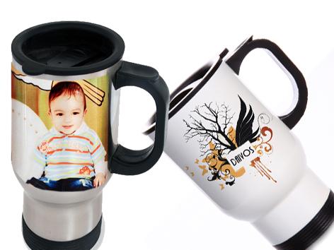 Termo puodelis su nuotrauka