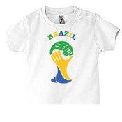 Kūdikių marškinėliai su Jūsų nuotrauka, užrašu, balti