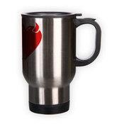 Kelioninis puodelis. Sidabrinis (250 ml)
