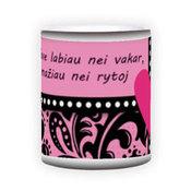 Magiškas puodelis. Juodas (300 ml)