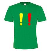 Vyriški marškinėliai su fotofabriko logotipu, žali