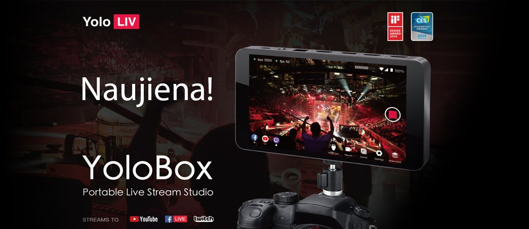 YOLOLIV YOLOBOX PORTABLE LIVE STREAM STUDIO