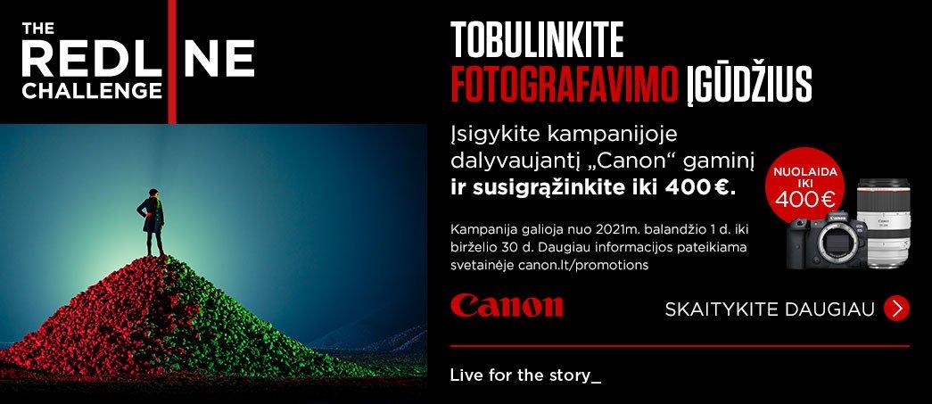 Canon REDLINE akcija