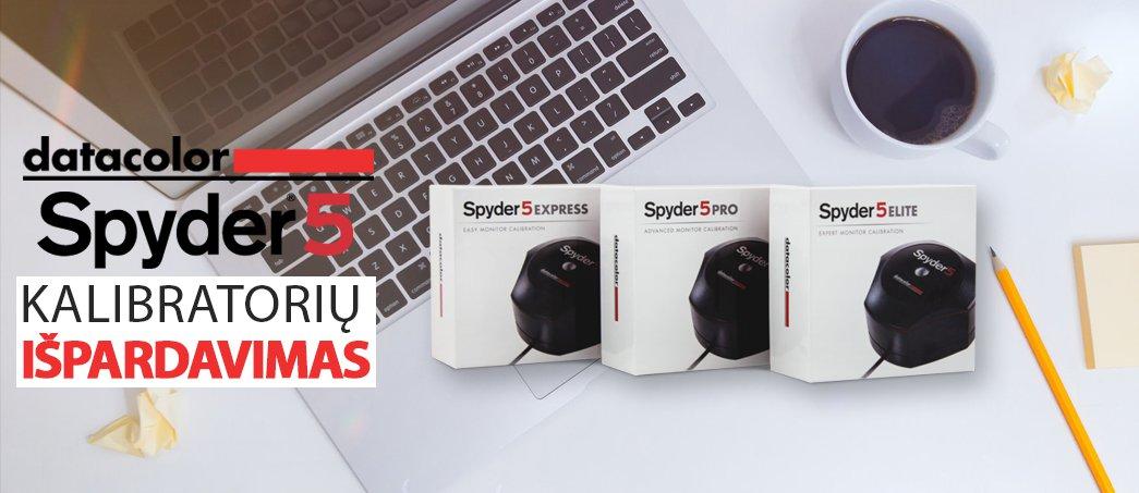 DataColor Spyder 5 išpardavimas