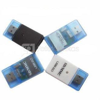 Mini Sd Kartenleser.Card Reader 4 In 1 Box Sd Mmc Rs Mmc Mini Sd