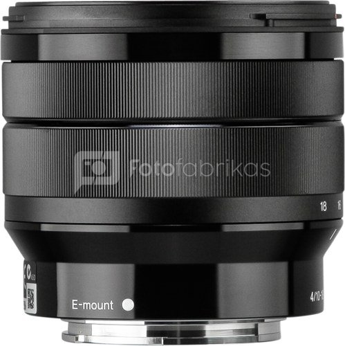sony e 10 18 mm f 4 oss objektyvai sisteminiams fotoaparatams. Black Bedroom Furniture Sets. Home Design Ideas