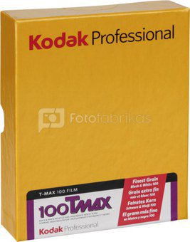 Kodak TMX 100 4x5 50 Sheets