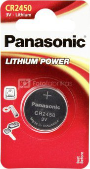 Panasonic CR 2450 Lithium Power