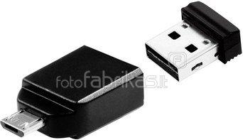 10x1 Verbatim Store n Stay 16GB USB 2.0 + OTG Adapter micro USB