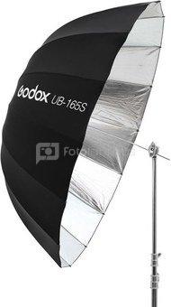 165cm Parabolic Umbrella Black&Silver