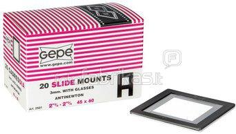 1x 20 Gepe 45x60 3,0mm AN-Glass 2501