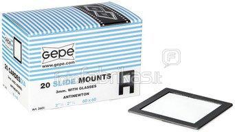 1x 20 Gepe 60x60 3,0mm AN-Glass 2601