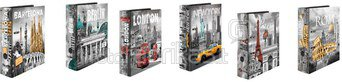 1x10 Herma Design Files Cities DIN A4 7169