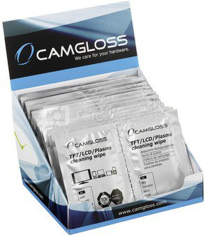 1x20 Camgloss TFT/LCD Cleaning Wipes DUO
