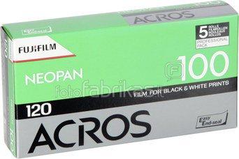 Fotojuosta Fuji Neopan Acros iso 100/120 1x5 vnt.