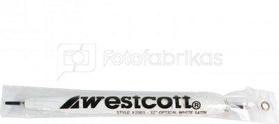 "Westcott 32""/81cm Optical White Satin"