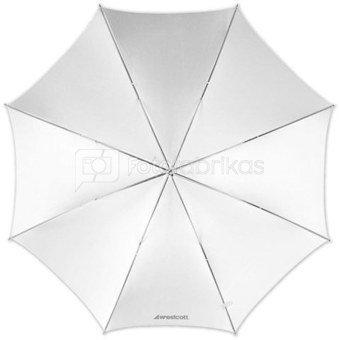 "Westcott 45""/114cm Optical White Satin Umbrella (MENZ)"