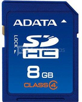 A-Data 8GB SDHC card (class 4), retail