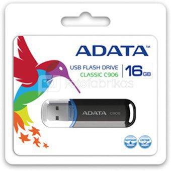 A-DATA Classic C906 16GB Black USB Flash Drive, Retail