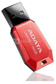 A-DATA DashDrive UV100 16GB Red USB Flash Drive, Retail