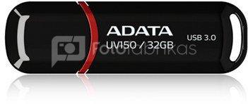A-DATA DashDrive UV150 32GB Black USB 3.0 Flash Drive, Retail